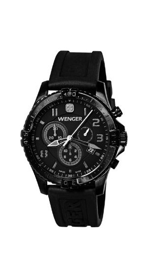 Wenger Squadron Chronograph (77054) Blackout